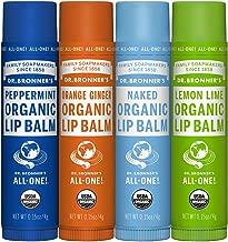 Dr. Bronner's Organic Lip Balm - Naked, Peppermint, Lemon Lime, Orange Ginger - by Dr. Bronner's