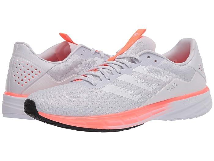 adidas Running  SL20 (Dash Grey/Footwear White/Core Black) Womens Running Shoes