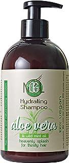 NGGL, trattamento spa vegan premium per capelli, shampoo idratante, 100% Aloe Vera naturale e olio di menta selvatica, 500 ml