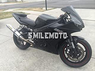 NT FAIRING Glossy Matte Black Injection Mold Fairing Fit for Yamaha YZF 2003-2005 R6 & 2006-2009 R6S New Painted Kit ABS Plastic Motorcycle Bodywork Aftermarket