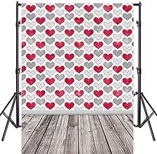 2Pc Love Heart Está Especialmente Diseñado para El Día De San Valentín Accesorios De Decoración Banner Vinilo Delgado para Video Foto Imagen para Fondo De Brotes Banner para Accesorio