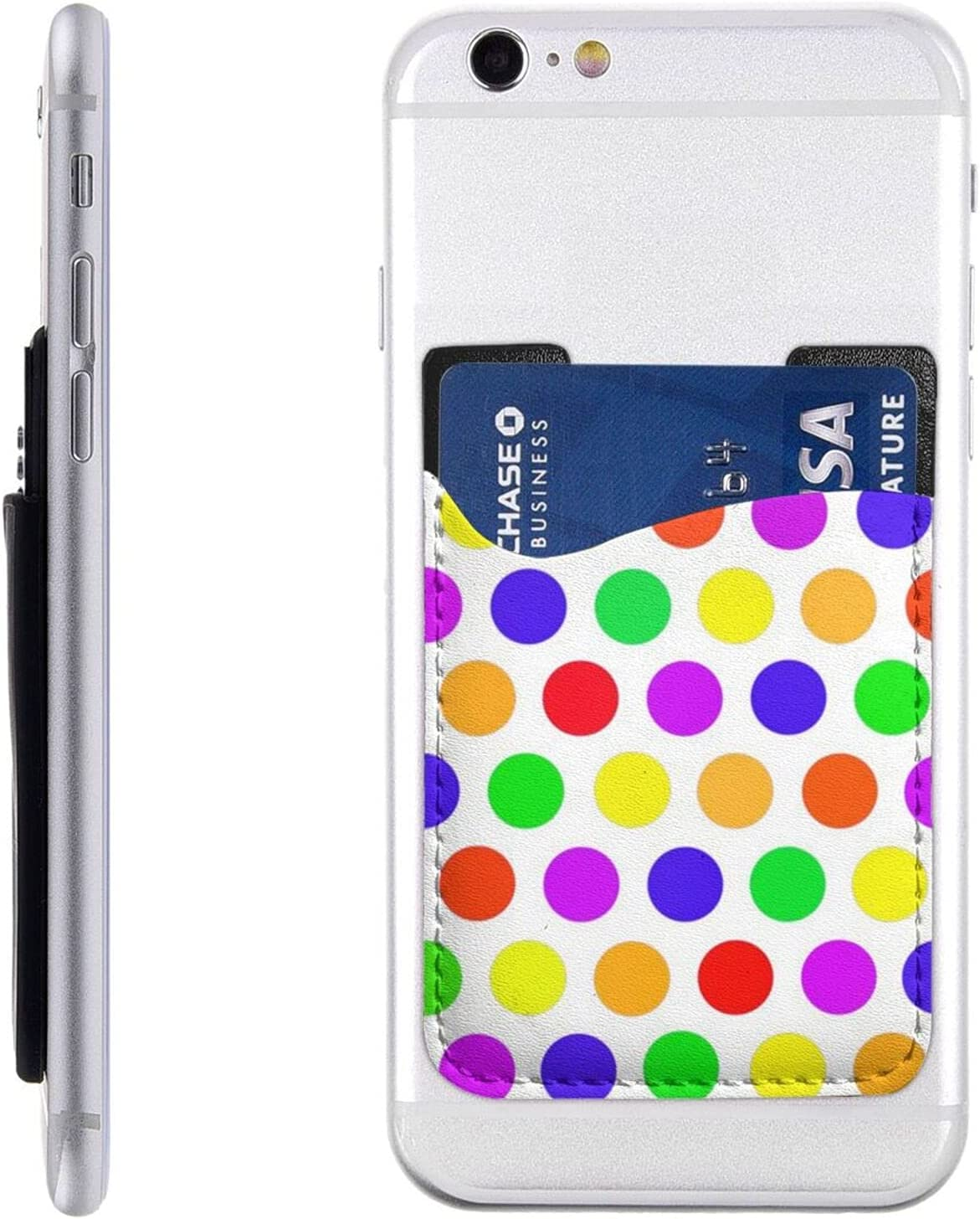 Beautiful Polka Dot Manufacturer regenerated product Phone Card Cell W Stick On Holder Sales of SALE items from new works