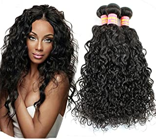 Peruvian Natural Wave Virgin REMY Hair Can be Dyed ABSORBS Color Easily Tangle Free Hair Weave Extension WEFT TRACK Natural Black Color ONE PC 100g