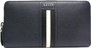 BALLY(バリー) TELEN. LT 6218051 ネイビー 長財布ラウンドファスナー/ファスナー式小銭入れ 【並行輸入品】
