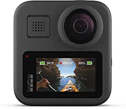 $429 » GoPro MAX — Waterproof 360 + Traditional Camera with Touch Screen Spherical 5.6K30 HD Video 16.6MP 360 Photos 1080p Live Streaming Stabilization (Renewed)