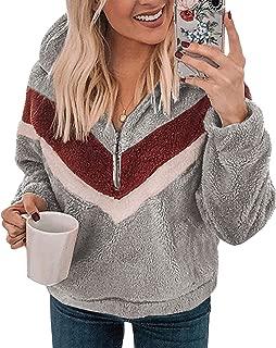Best sherpa half zip hoodie Reviews