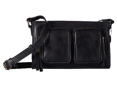 Lucky Brand Yucca Crossbody (Black) Cross Body Handbags
