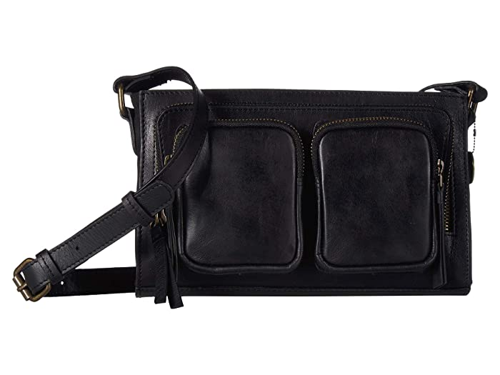 Lucky Brand  Yucca Crossbody (Black) Cross Body Handbags