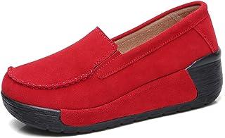 Reedbler Brand Autumn Spring Moccasins Women Flats Fashion Flat Platform Shoes Womens Loafers Ladies Slip On