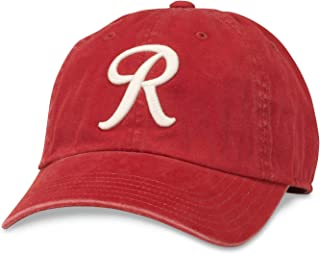 American Needle Minor League Baseball New Raglin Washed Slouch Adjustable Hat