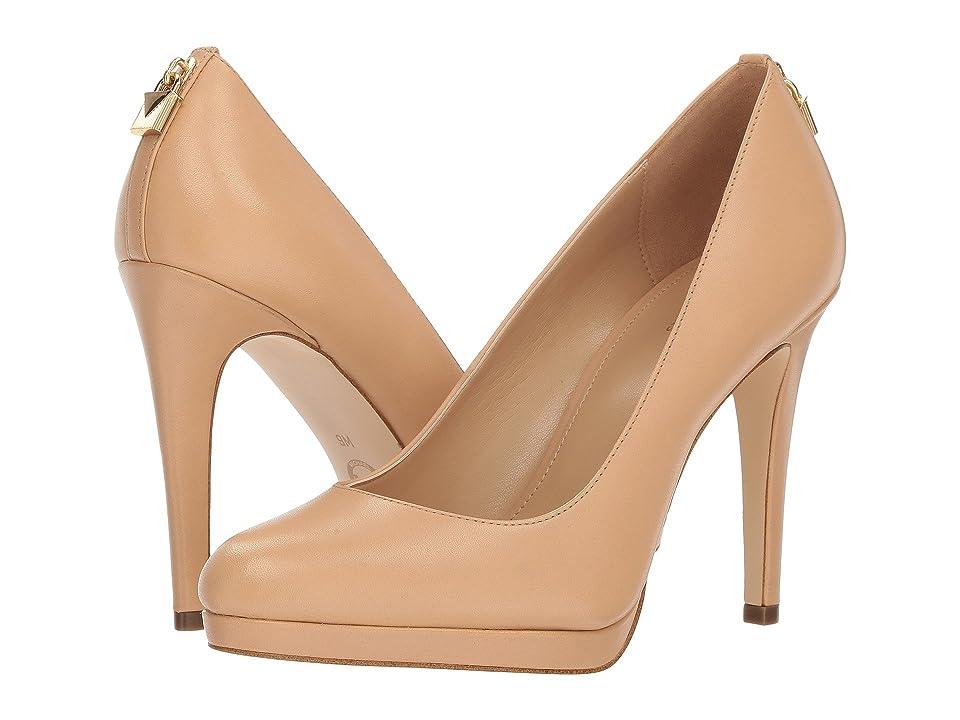 MICHAEL Michael Kors Antoinette Pump (Butternut Vachetta) High Heels