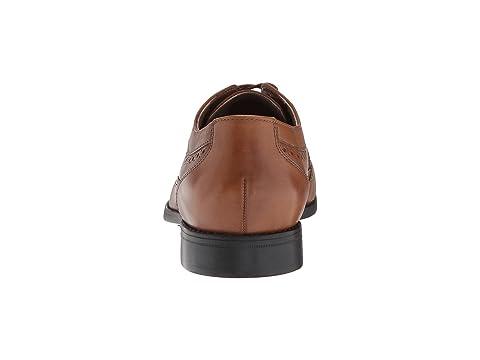 Garian Wing Bostonian LeatherDark Tan Black Leather aqwdB