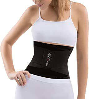 Slim Abs Slimming Waist Trainer Girdle Belt – Womens Workout Tummy Control Body Shaper Corset - Shapewear for a Slimmer Stomach