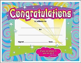 Colorful Classics Certificates - Congratulations/Swirls