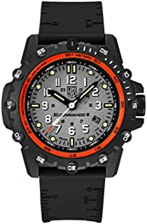 Navy Seal Mens Watch Commando Frogman Swiss Made (XS.3301/3300 Series): 200 Meter Water Resistant + Sapphire Crystal + Light Weight Carbon Case
