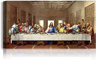 A&T ARTWORK The Last Supper by Leonardo Da Vinci The World Classic Art Reproductions, Giclee Canvas Prints Wall Art for Ho...