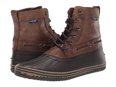 Sperry Huntington Duck Boot (Brown/Dark Brown) Men