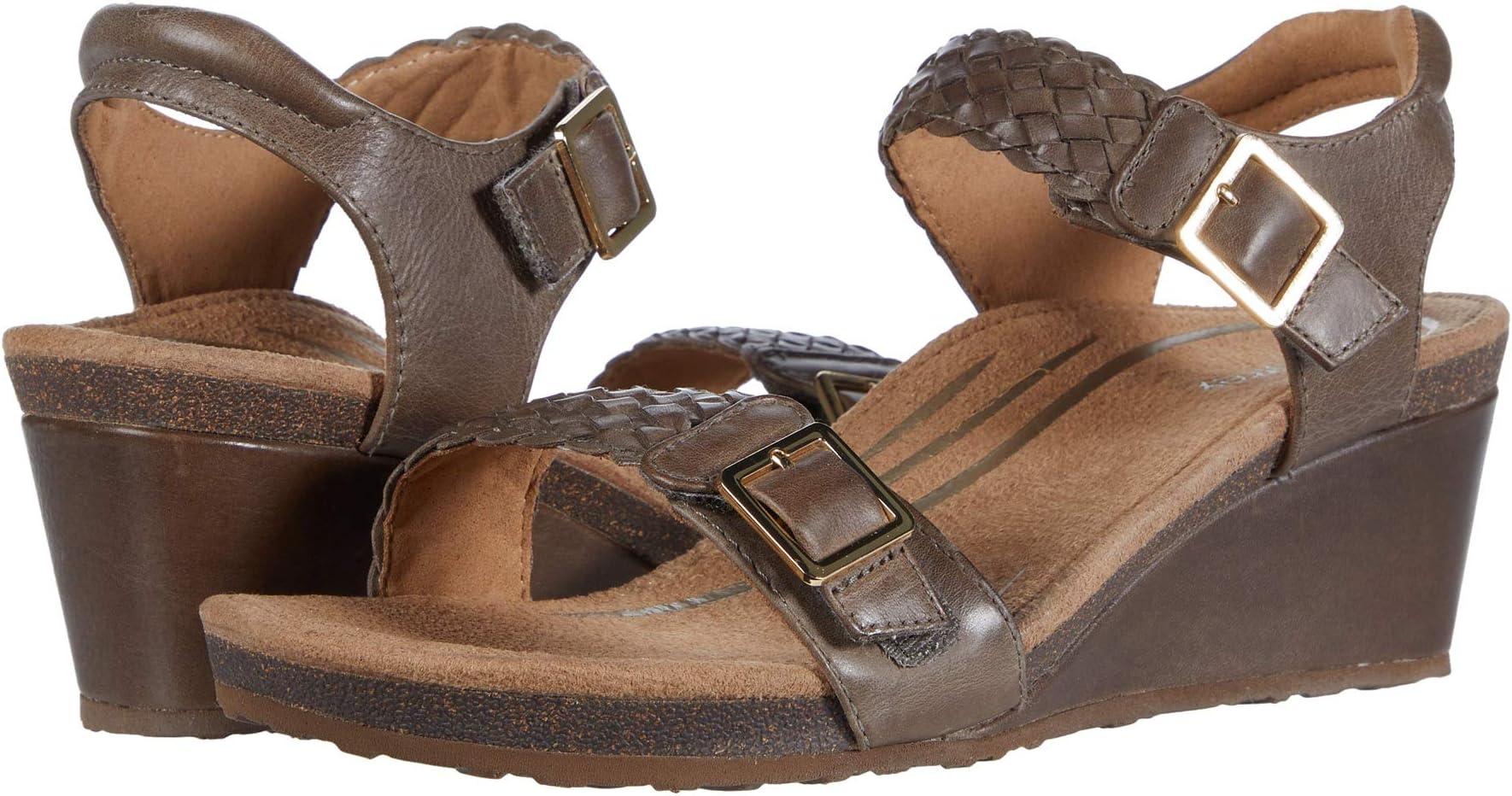 Aetrex Heeled Sandals