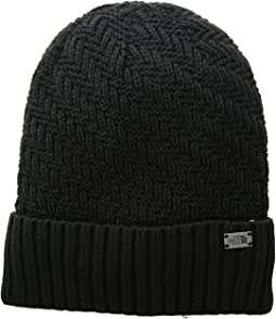 1712e974b The north face campfire beanie tnf black | Shipped Free at Zappos