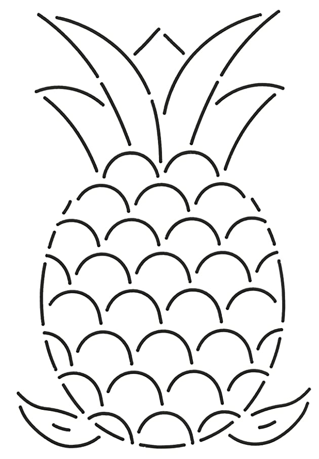 Quilting Creations Pineapple Quilt Stencil