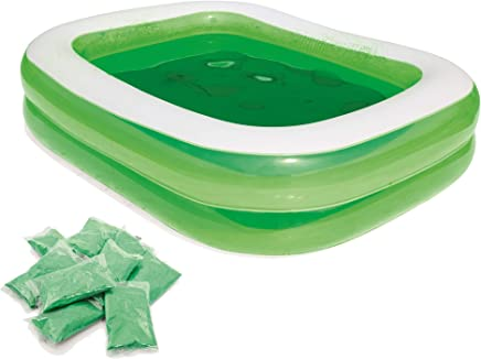 e2be855c Piscina Hinchable Infantil Bestway Swim n' Slime Rectangular 201x150x51 cm