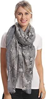 Fashion Printed Long Scarf, 15 Classic Patterns, Cozy Soft, Big Size for All Season