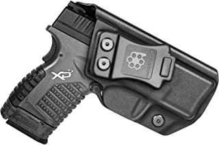 "Amberide IWB KYDEX Holster Fit: Springfield XD-S 3.3"" 9mm/.40S&W/.45ACP Pistol  .."
