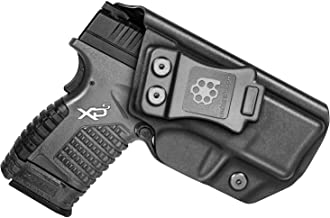 """Amberide IWB KYDEX Holster Fit: Springfield XD-S 3.3"""" & XD-S MOD.2 3.3"""".."""