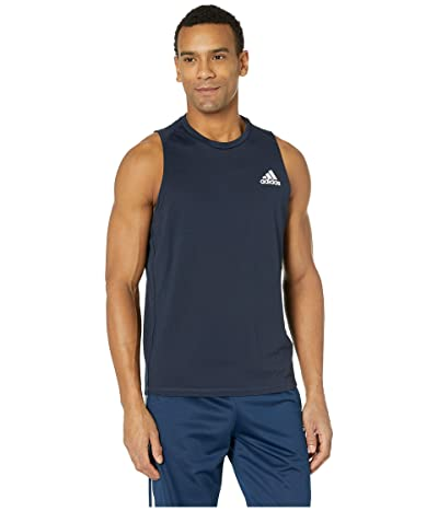 adidas Freelift Sleeveless T-Shirt (Legend Ink) Men