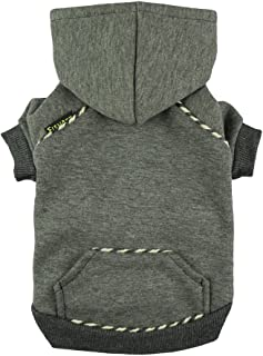 Fitwarm Fleece Sweatshirts for Dog Coats Pet Hooded Jackets,  Grey