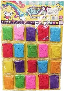 Clay Doll Super Light Clay 20 colors 3+ ages - EN-71 SGS