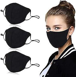 3PCS Reusable Cotton 4 Layer Protective Face Protector