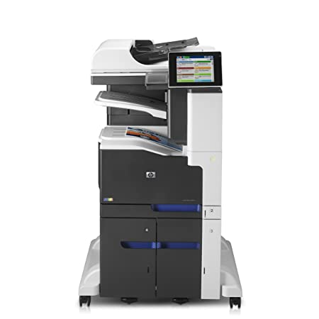HP LaserJet M775f - Impresora multifunción (Laser, Color, Color, 30 ppm, 600 x 600 DPI, 30 ppm) Gris, Color blanco