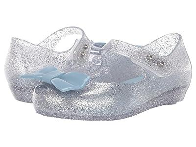 Mini Melissa Ultragirl Princess Me BB (Toddler/Little Kid) (Silver Glitter Clear/Blue) Girl
