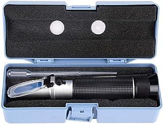 Réfractomètre de Test, Alcool de Poche Professionnel 0-80% Testeur de réfractomètre testeur mètre Instrument de Mesure pou...