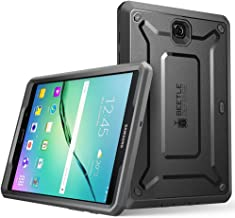 Galaxy Tab S2 8.0 Case, SUPCASE [Heavy Duty] Case for Samsung Galaxy Tab S2 8.0 Tablet [Unicorn Beetle PRO Series] Rugged Hybrid Protective Cover w/Builtin Screen Protector Bumper (Black/Black)