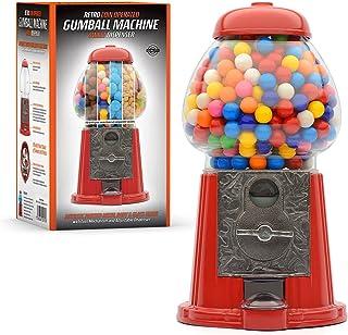 CKB LTD Machine à gommes rétro - Distributeur de bonbons - Gobstoppers Bob Bons - Chocolats ronds, gommes, mélangés, noix,...