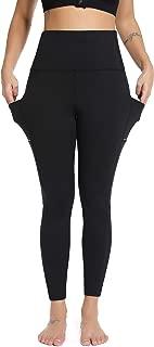 Olacia Yoga Pants for Women with Pockets, High Waisted Yoga Pants Tummy Control Workout Leggings