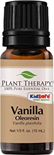 Plant Therapy Vanilla Oleoresin Essential Oil | 100% Pure, Undiluted, Natural Aromatherapy, Therapeutic Grade | 10 Milliliter (1/3 Ounce)