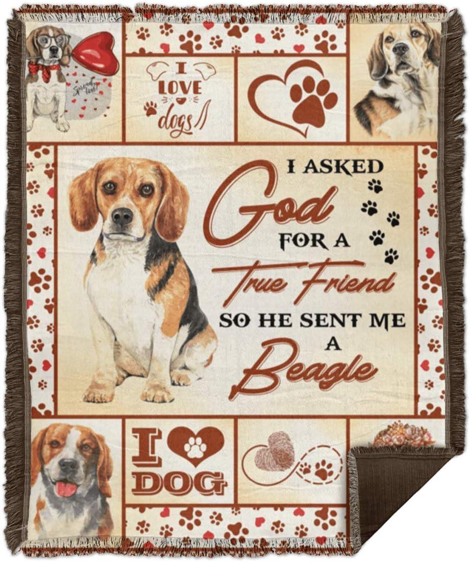 Design Blankets I List price Asked God for A Be Sent True Me He Friend Reservation So