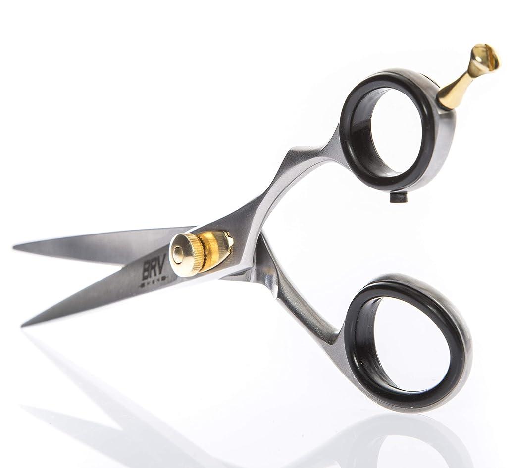 Facial Hair Scissors for Men   Mustache & Beard Trimming Scissors   5.5 inches   100% Stainless Steel l Sharp & Precise Grooming   Razor Edge Barber Scissor   Professional Cutting & Styling Scissors