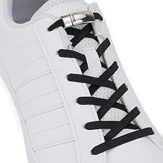 comprar comparacion SULPO - Cordones elásticos de goma con cierre magnético de metal, sin atar, juego de cordones sin lazada, para todos los z...