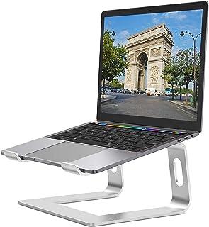 Nulaxy ノートパソコンスタンド ノートPCスタンド ラップトップ タブレットスタンド 優れた放熱性 アルミ製 Macbook/Macbook Air/Macbook Pro/iPadなど10~15.8インチに対応 組み立て式 卓上 放熱 ...