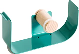 "U Brands Metal Tape Dispenser, Desktop Accessory, Arc Collection, 1"" Core, Green"