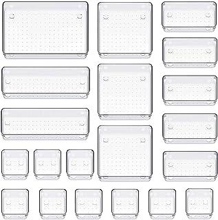 Organiseur de tiroir - Boîtes de rangement - Tiroirs - Système de rangement - Organisateur de maquillage pour cuisine, bur...