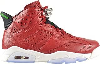 Jordan Air 6 Retro Spizike Men's Shoes Varsity Red/Classic Green-Black-White 694091-625