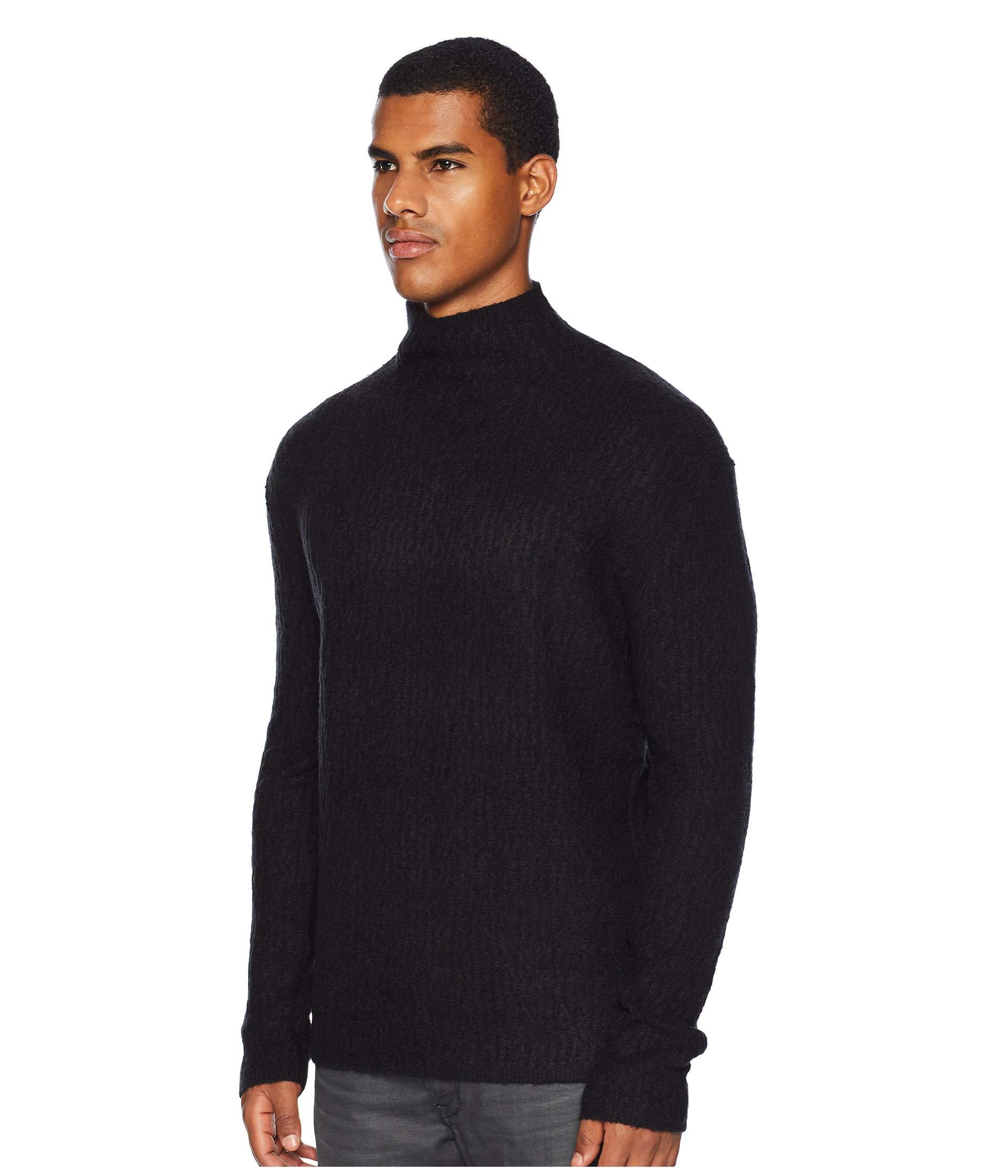 Y2552u3 Black Long Mock Collection Sleeve John Varvatos Neck Cable PwqCZZ0