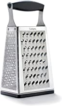 CUISIPRO 4 Sided Box Grater, Black, 0065506068503