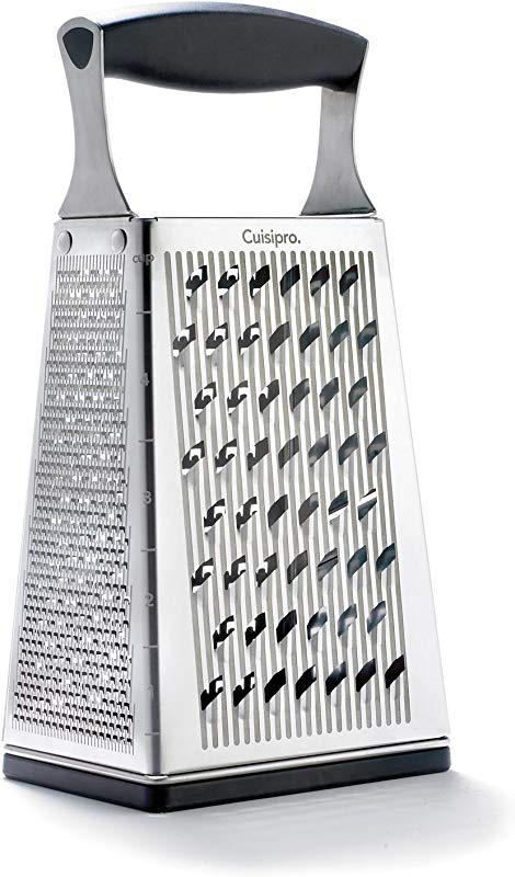 Cuisipro Surface Glide Technology 4 Sided Boxed Grater