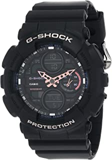 Casio G-Shock GMA-S140-1ADR Resin Band Analog-Digital Watch for Women - Black and Purple